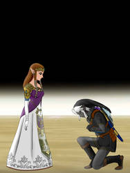 Zelda x Dark Link