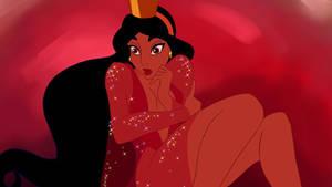Princess Jasmine as princess Daphne