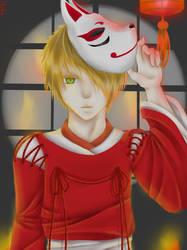 Kitsune by Mioko-Mizu