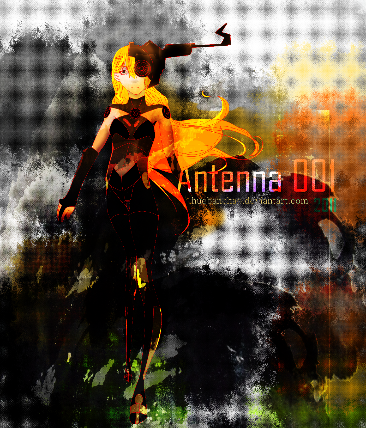 Antenna 001 by huebanchao