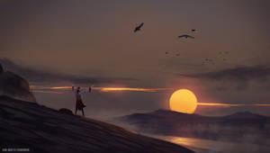 Environment Sketching - Sunfall