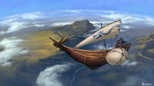 The Harpy, sky sloop
