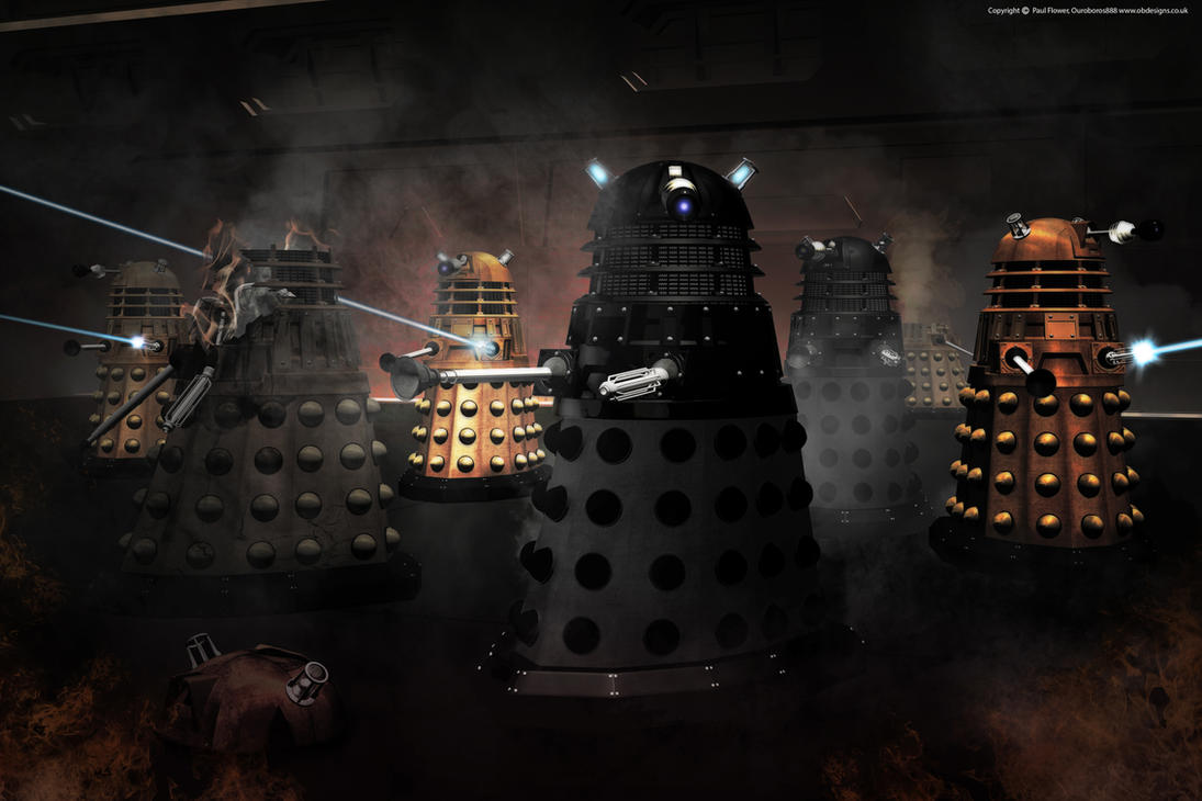 Dalek Attack by Ouroboros888