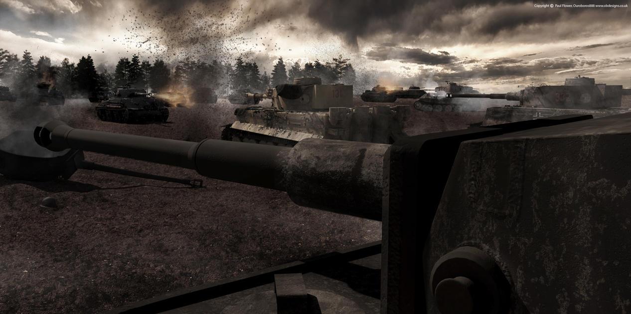 Tank Battle by Ouroboros888