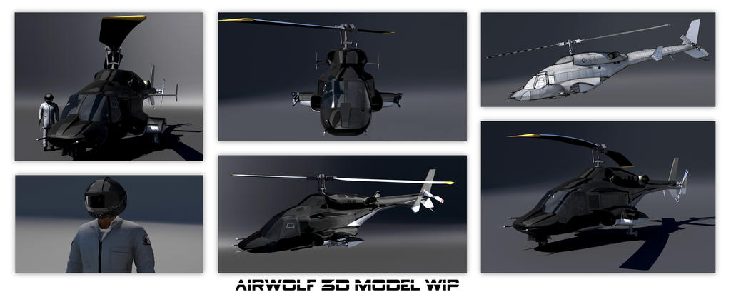 Airwolf WIP by Ouroboros888