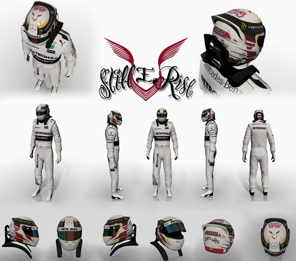 Lewis Hamilton 2015 by Ouroboros888