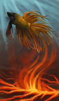 Phoenix Fish by Griffin-Fire