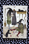 sewing witches