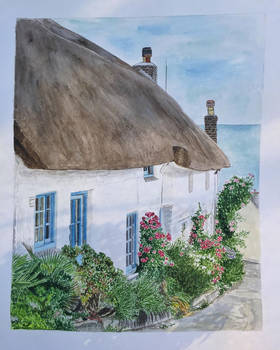English cottage (Cadgwith Cove, Cornwall)