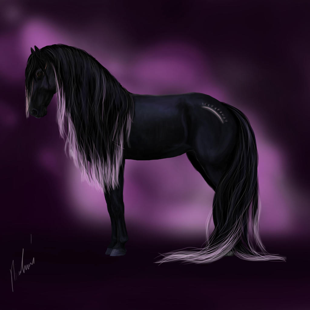 Saurima - The Druid Horse