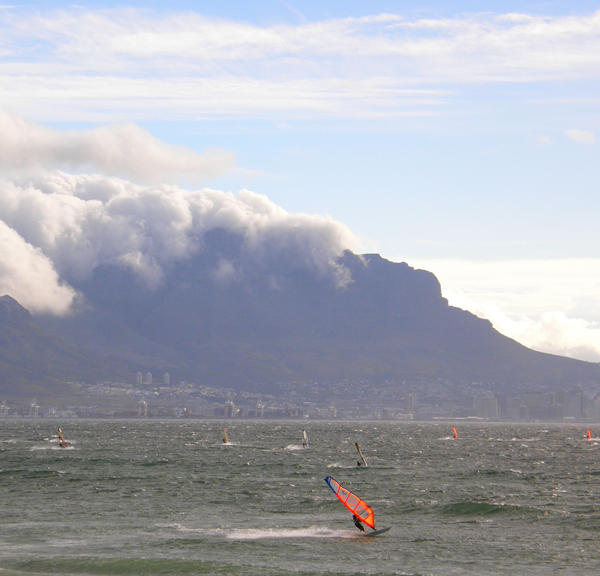 Sea and Tablemountain SA II by Jenvanw
