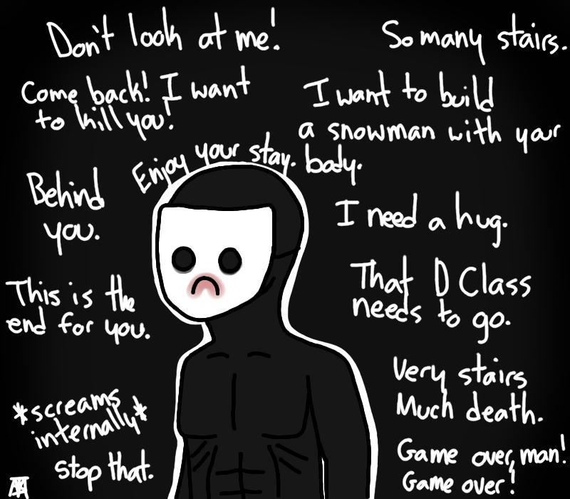 SCP-087-B's Inner Thoughts by DerpySuperHero on DeviantArt