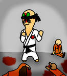 SCP-173 the Karate Master