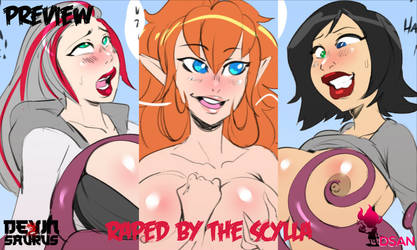 [NSFW Preview] Raped by the Scylla by devinsaurusnext