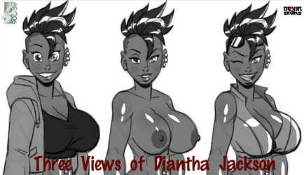 [NSFW Preview] Three Views of Diantha Jackson by devinsaurusnext