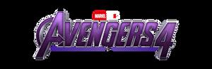 Avengers 4 - Original Leaked Logo (PNG)