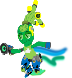 OverWatchPonies: Lucio(LimeDreaming) by ColdSnap777