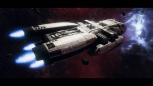 Jupiter-class on patrol