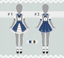 [CLOSED] Outfit Adopts : 6 (AUCTION) by P7-Adopt