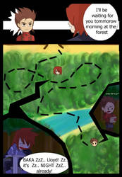 TOS:lost in the forest XD by Joly