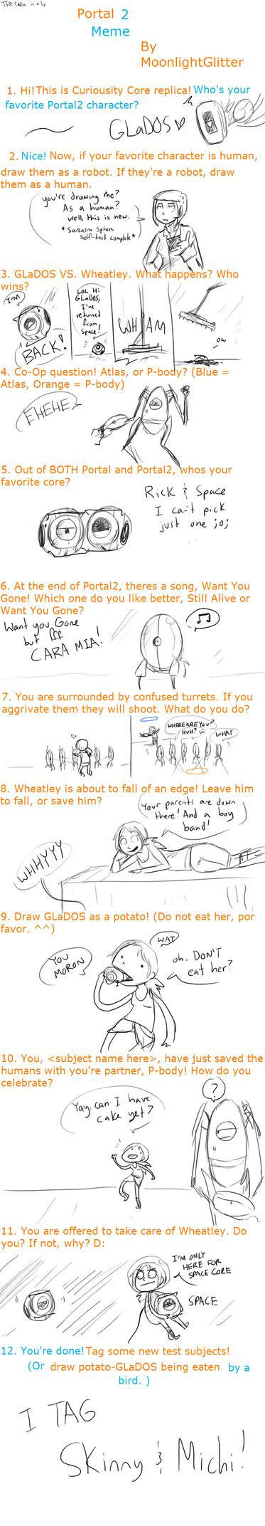 Portal 2 meme by Super-Cute