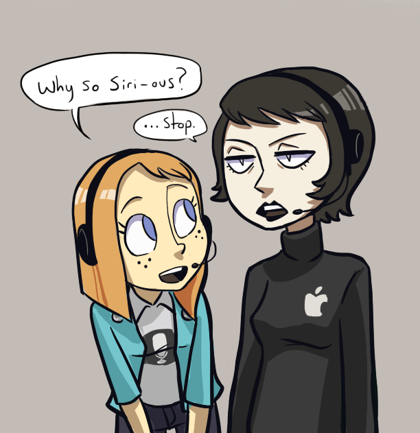The Siri and Galaxy continues by Super-Cute on DeviantArt