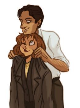 'Mulder, it's a little big on me...'
