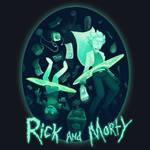 Rick and Morty T Shirt Design