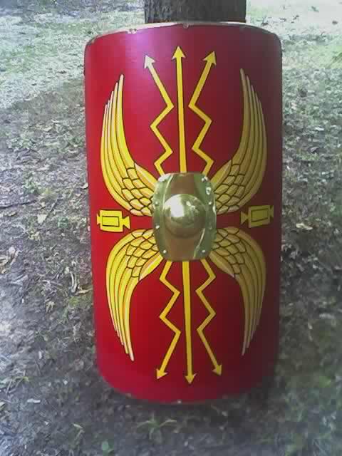 Roman Shield Symbol -- myArmoury.com