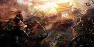 Concept map of ancient war
