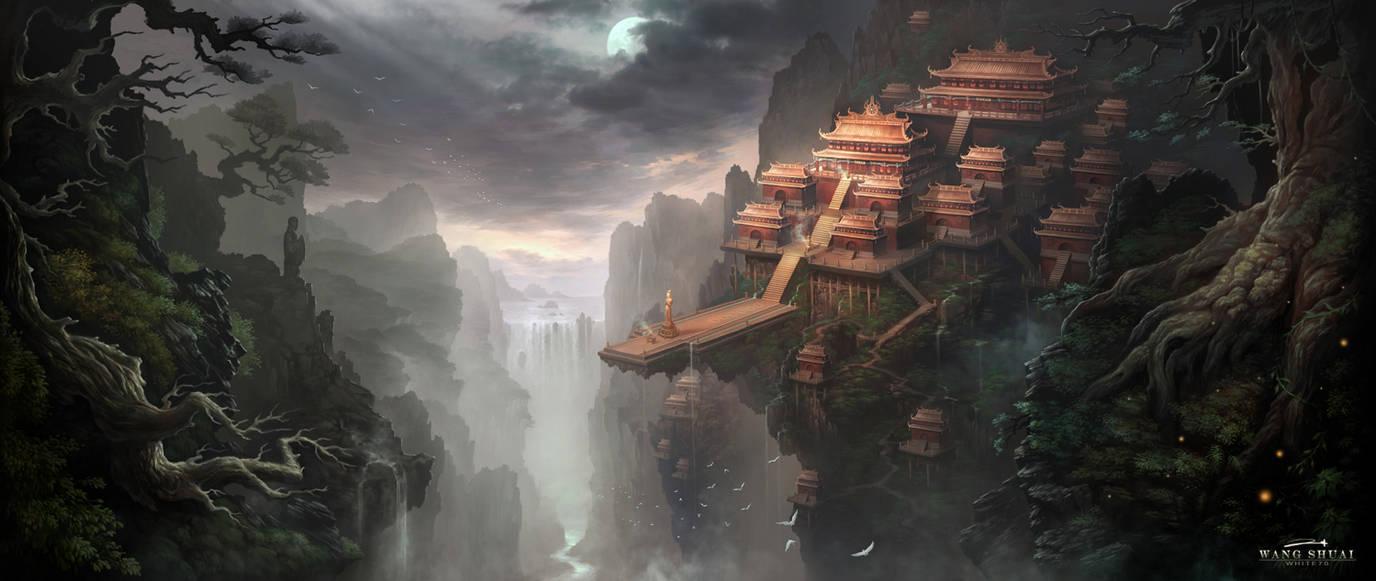 XIAO AO JIAN GHU Game scene