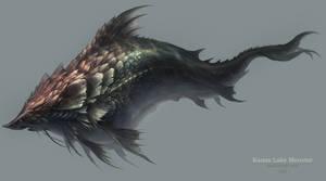 Kanas Lake Monster by white70WS