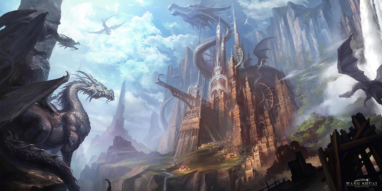 Dragon City By White70WS On DeviantArt