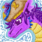 Purple Magical Icon by piratedragon0402