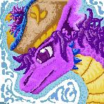 Purple Magical Icon by piratedragon0402