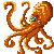 octopus 50X50 icon FREE by piratedragon0402