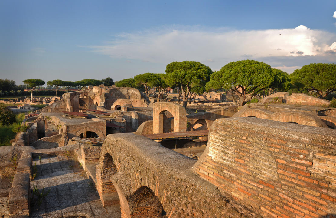 Ostia Antica - ancient city near to Rome, Italy by mysterious-one