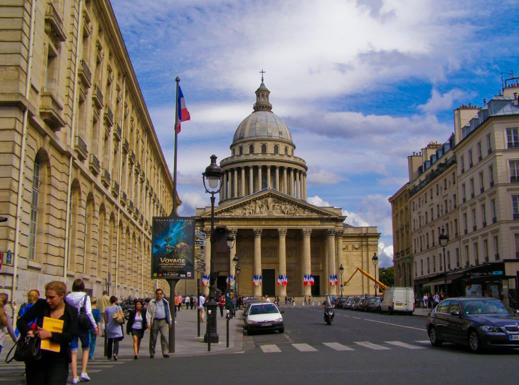 Panteon in Paris by mysterious-one