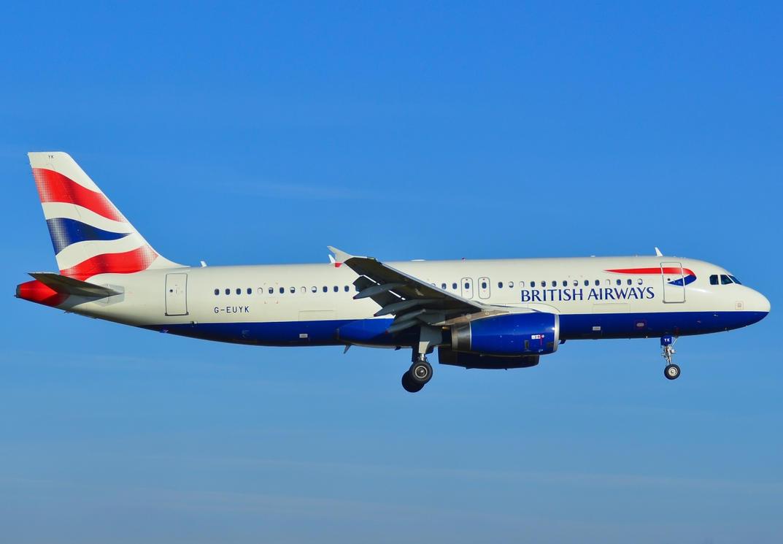 G-EUYK - Airbus A320-232 - British Airways by mysterious-one