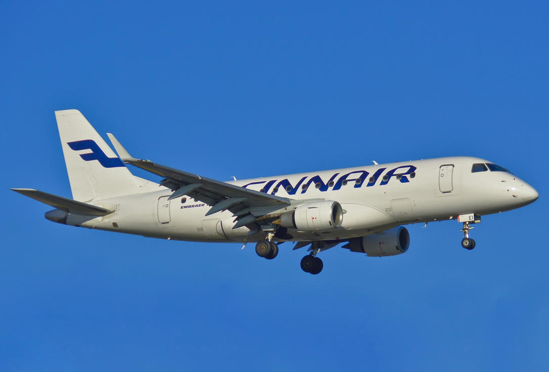 OH-LEI - Embraer ERJ-170STD - Finnair by mysterious-one