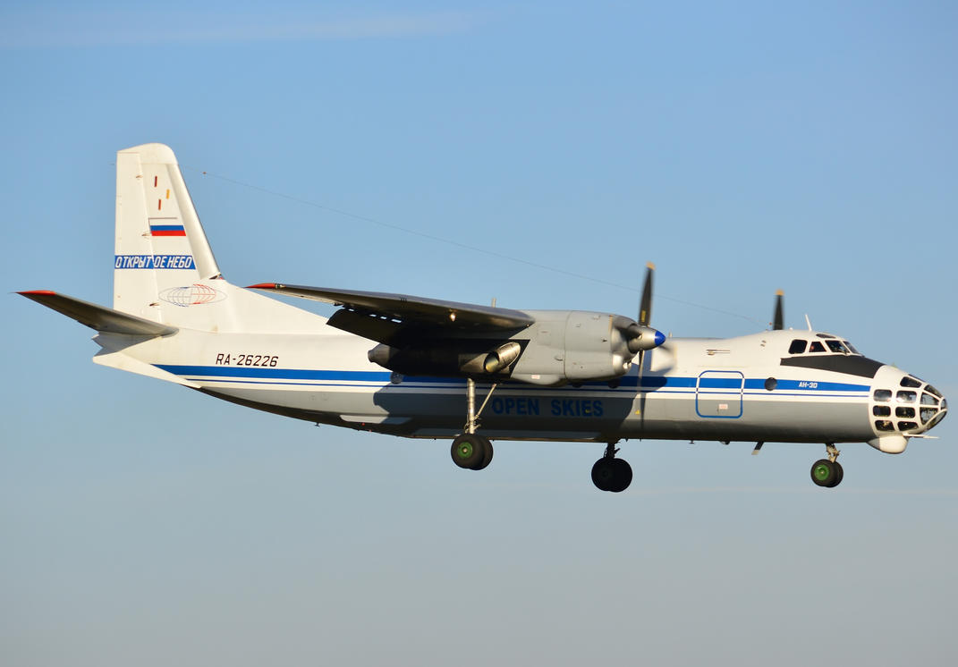 RA-26226 - Russian Federation Air Force - An-30 by mysterious-one