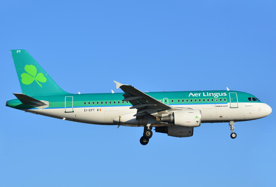 EI-EPT - Airbus A319-111 - Aer Lingus by mysterious-one