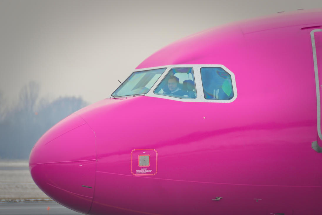 HA-LPR - Airbus A320-232 - Wizzair by mysterious-one