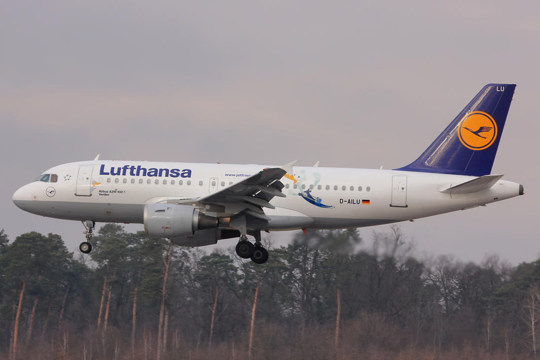 D-AILU - Airbus A319-114 - Lufthansa by mysterious-one