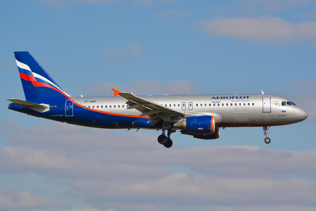 VP-BWD - Airbus A320-214 - Aeroflot by mysterious-one