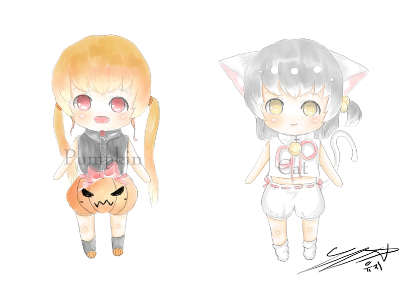 [ Adoptable ] Halloween set by yujy307