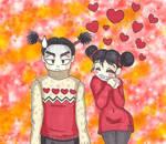 Pucca and Garu - Sweater