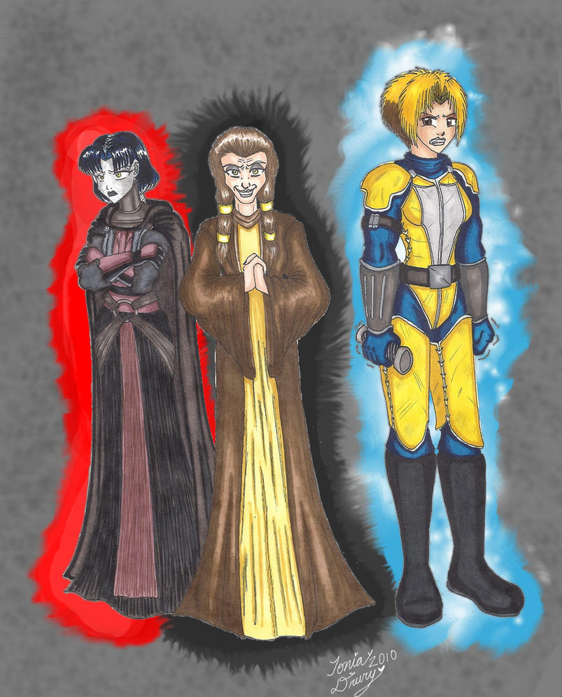 Gift: Kreia's Plan... by MaskedSugarGirl