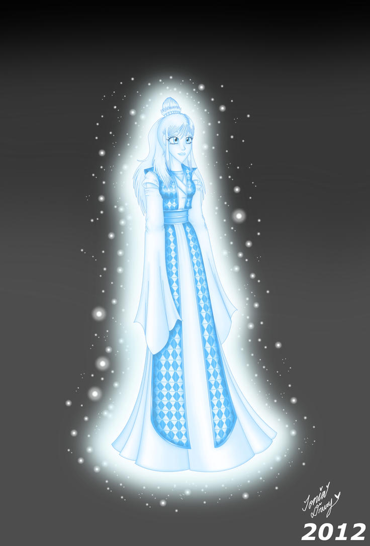 K4/OR-Marina Doshi The Glow Force Ghost- by MaskedSugarGirl