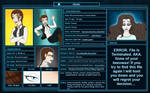 SWTOR: Character Sheet - KOTOR - Revania Everett by MaskedSugarGirl
